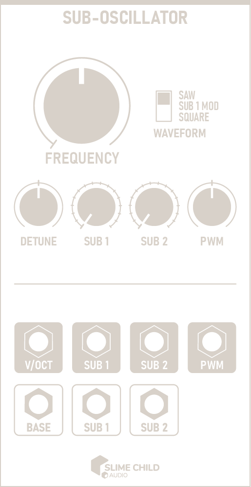 Sub-Oscillator Outline